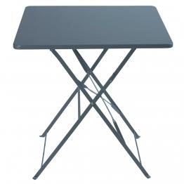 Klappgartentisch aus Metall, B 70cm