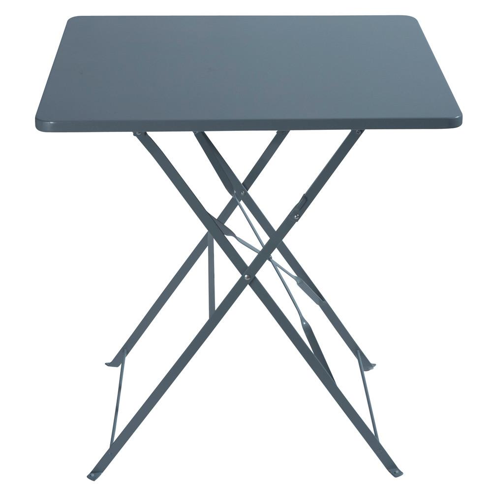 klappgartentisch aus metall b 70 cm shop ambiente mediterran. Black Bedroom Furniture Sets. Home Design Ideas