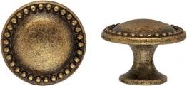 Knopf Louis XVI Messing Florence klein 25 mm - Stilmelange Qualität aus Europa seit 1998