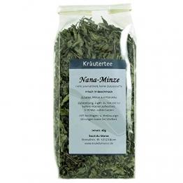 Kräutertee Kräuter Tee Nana-Minze Mischung aus Marokko ✔ reiner Natur-Minztee Tea Chay Chai lose ✔ Teemischung ✔ ohne Zusatzstoffe, Aromastoffe & Konservierungsstoffe, 250g - 1