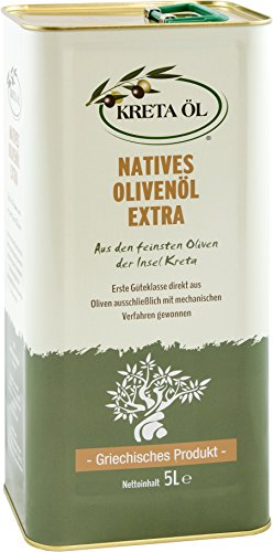 Kreta Öl - extra natives Olivenöl - 5 Liter - 1