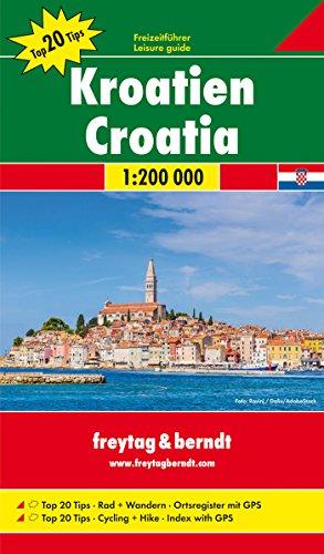 Kroatien Nord und Süd, Autokarten Set 1:200.000 (freytag & berndt Auto + Freizeitkarten) - 2