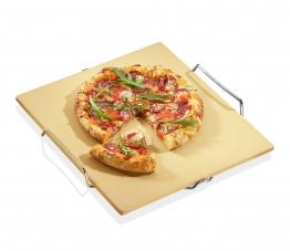 Küchenprofi Pizza Stein mit Gestell Pasta & Pizza Pizzastein