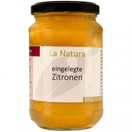 La Natura eingelegte Zitronen das Original aus Marokko Salzzitronen - 200g - 1