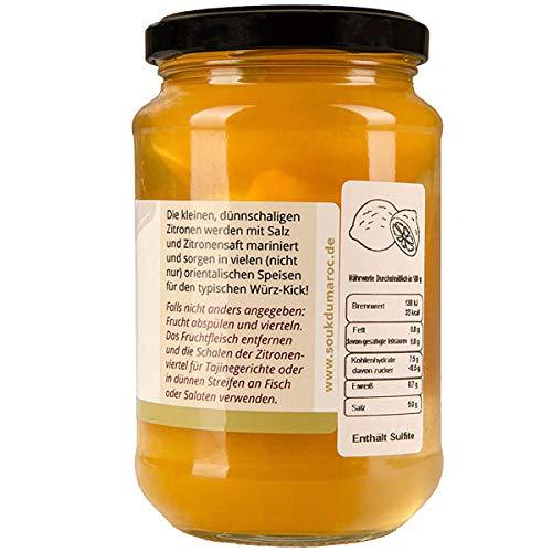 La Natura eingelegte Zitronen das Original aus Marokko Salzzitronen - 200g - 3