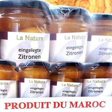 La Natura eingelegte Zitronen das Original aus Marokko Salzzitronen - 200g - 7