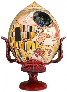 "La terra incantata Pumo ""Il Bacio"" I. Apulianisches Dekoobjekt, Traditionelle italienische Handarbeit - 1"