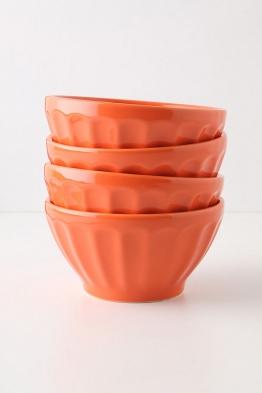 Latte Schüssel - Tangerine