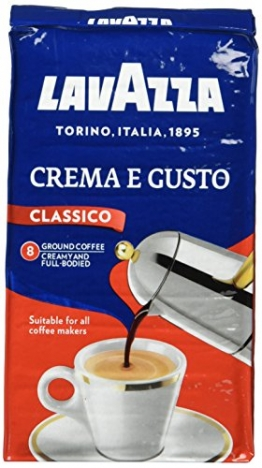 Lavazza Crema E Gusto gemahlen, 10er Pack (10 x 250 g Packung) - 1