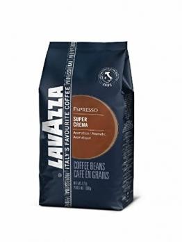Lavazza Kaffee Espresso - Super Crema, 1000g Bohnen - 1