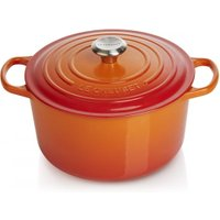 Le Creuset Bräter Signature Hoch Gusseisen Ofenrot 26cm