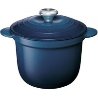 Le Creuset Cocotte Every Gusseisen mit Poteriedeckel Tinte 18cm