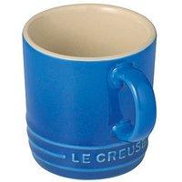 Le Creuset Espresso Tasse Steinzeug Marseille Blau 70ml