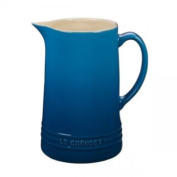 Le Creuset Saftkrug Steinzeug Marseille Blau 1,5L