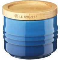Le Creuset Zuckerdose Steinzeug Marseille Blau 80ml