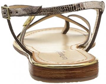 Les Tropéziennes par M. Belarbi Damen Monaco Sandalen, Gold (Or/Serpent), 36 EU - 3