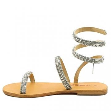 Les Tropéziennes par M. Belarbi, Damen Sneaker, Silber - Silber - Größe: 41 - 2
