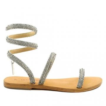 Les Tropéziennes par M. Belarbi, Damen Sneaker, Silber - Silber - Größe: 41 - 3