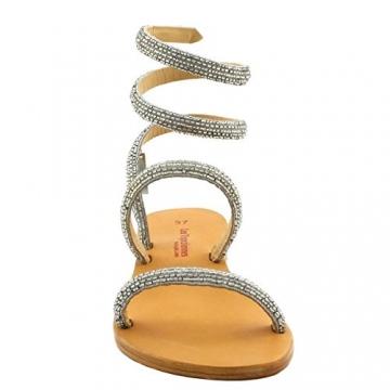 Les Tropéziennes par M. Belarbi, Damen Sneaker, Silber - Silber - Größe: 41 - 4