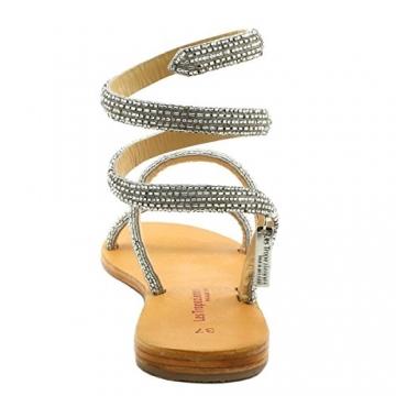Les Tropéziennes par M. Belarbi, Damen Sneaker, Silber - Silber - Größe: 41 - 6