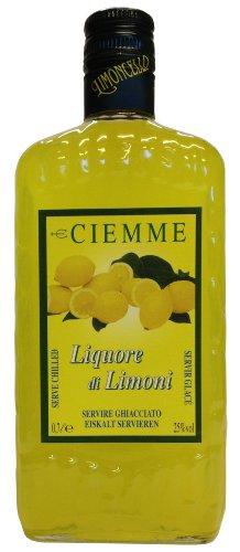Limoncello Distilleria Ciemme Liquore di Limoni 0,7 L - Italienischer Zitronen Likör 25% Vol. - 1
