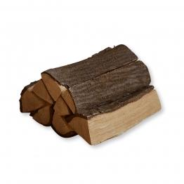 LOBERON Deko-Holzscheite Royan, braun (30.5 x 26.5 x 14cm)