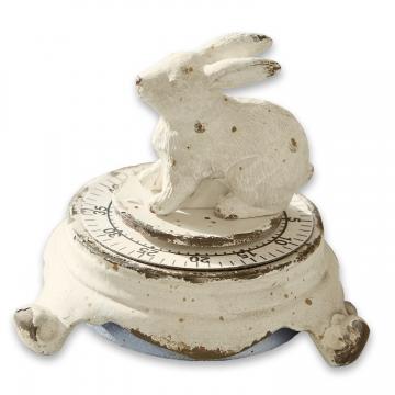 LOBERON Eieruhr Terese, antikweiß (7cm)