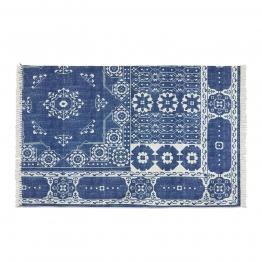 LOBERON In- und Outdoor-Teppich Reffuveille, blau (230 x 160cm)