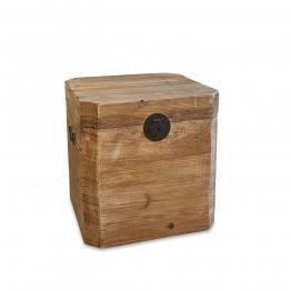 LOBERON Kiste Igraine, braun (48 x 52 x 55cm)