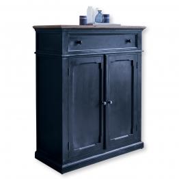 LOBERON Kommode Cecilton, blau (45 x 100 x 120cm)