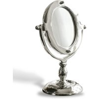 LOBERON Kosmetikspiegel Madra, silber (10 x 15 x 21cm)
