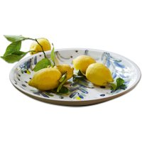 LOBERON Schale Verdure, grün/weiß (6cm)