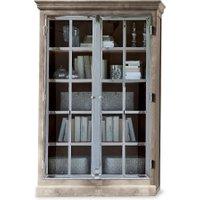 LOBERON Schrank Keyport, antikbraun (48 x 120 x 200cm)