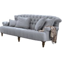 LOBERON Sofa Springfield Village, graublau (112 x 222 x 93cm)