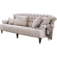 LOBERON Sofa Springfield Village, leinen (112 x 222 x 93cm)