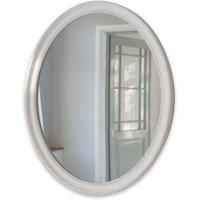 LOBERON Spiegel Nimes, antikweiß (57 x 3 x 67cm)
