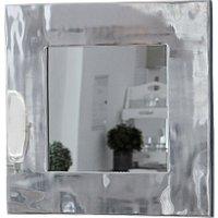 LOBERON Spiegel Silver Bow, antiksilber (3 x 53 x 53cm)