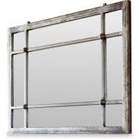 LOBERON Spiegel Somero, antikschwarz (3 x 60 x 45cm)