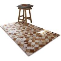 LOBERON Teppich Agel, braun/beige (80 x 150cm)