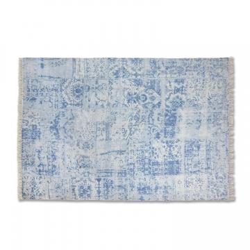 LOBERON Teppich Bifort, blau (200 x 300cm)
