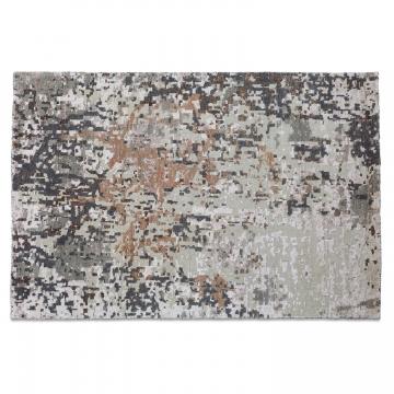 LOBERON Teppich Villars, grau/braun (2 x 140 x 200cm)
