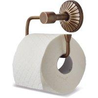 LOBERON Toilettenpapierhalter Terling, messing (8 x 15 x 13cm)