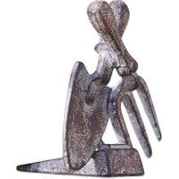 LOBERON Türstopper 2er Set Pimford, antikbraun (12 x 8.5 x 13cm)