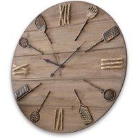 LOBERON Uhr Avéne, braun (8cm)