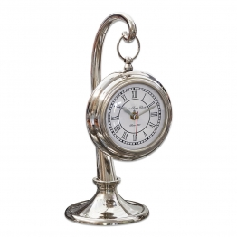 LOBERON Uhr Barbe, silber (25cm)