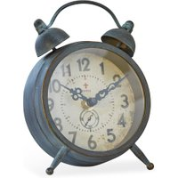 LOBERON Uhr Horaire, graublau (4.5 x 11.5 x 16.5cm)
