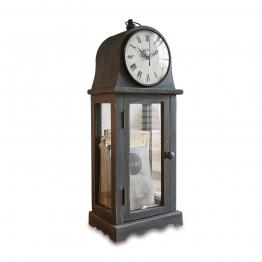 LOBERON Uhr Mortimer, schwarz (19 x 14 x 51cm)
