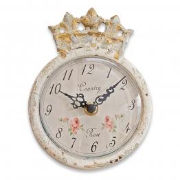LOBERON Uhr Rhon, antikcreme (4.5 x 12 x 15.5cm)