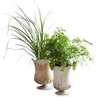 LOBERON Vase 2er Set Wilgard, kupfer