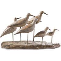 LOBERON Vögel Kontreo, grau (18.4 x 47 x 27.8cm)